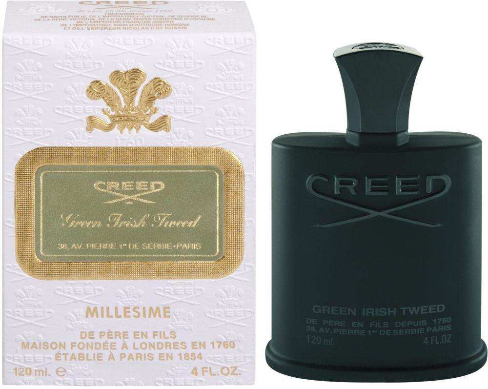 Green Irish Tweed by Creed for Men - Eau de Parfum, 120ml