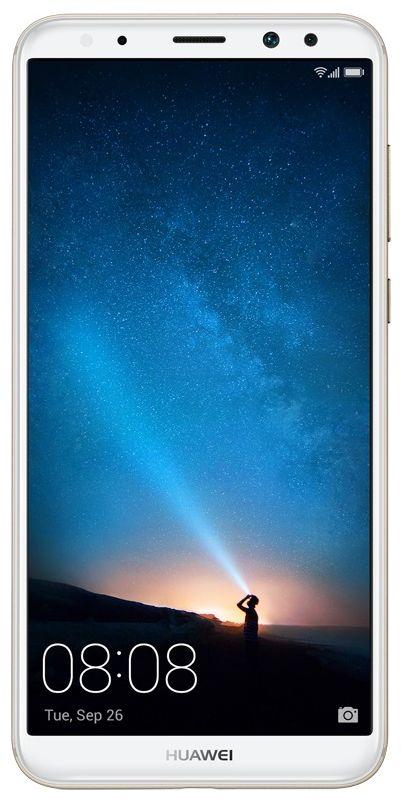 Huawei Mate 10 Lite Dual Sim - 64 GB, 4 GB Ram, 4G LTE, Gold, Rhone-L21