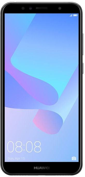 Huawei Y6 Prime 2018 Dual SIM 4G LTE , 16GB , 2GB RAM , Black