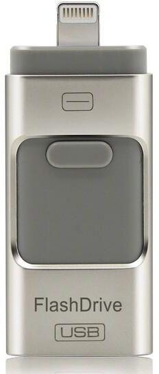 I-FlashDrive USB Flash Drive For iPhone 6, 5S, 5, iPad mini, iPad air Dual Storage-32GB
