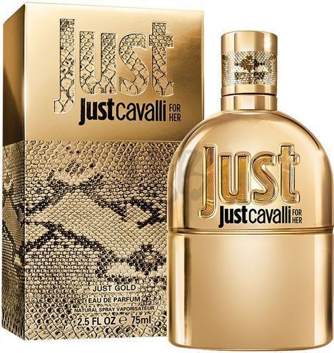 Just Cavalli Gold by Roberto Cavalli for Women - Eau de Parfum, 75ml