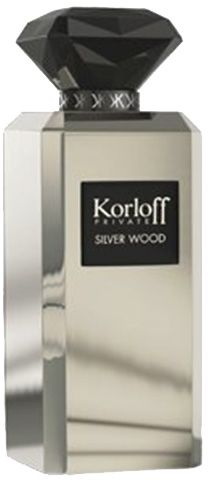 Korloff Private Silver Wood for Men - Eau de Parfum, 88ml