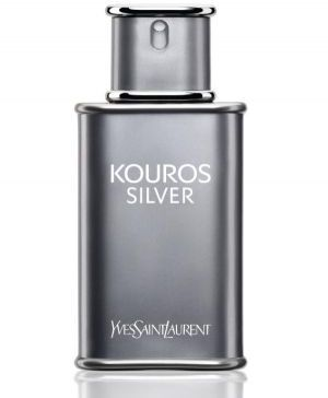 Kouros Silver by Yves Saint Laurent for Men - Eau de Toilette, 100ml