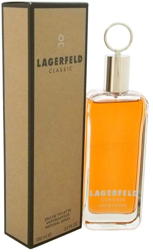 Lagerfeld Classic Perfume By Karl Lagerfeld For Men , Eau de Toilette , 100 ml