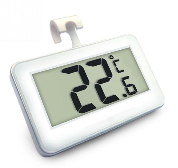 Mini LCD Digital Thermometer Temperature Meter Indoor Electronic Temperature Meter W/Magnet Hook for Refrigerator