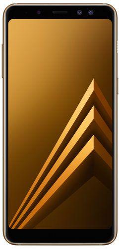 Samsung Galaxy A8 Dual Sim - 64 GB, 4 GB Ram, 4G LTE, Gold, Sm-A530FzdgXSg