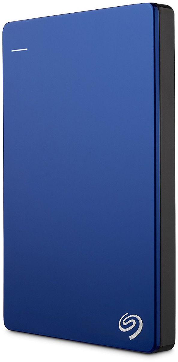 Seagate 1 TB Backup Plus USB 3.0 Slim Portable Hard Drive - Blue [STDR1000202]