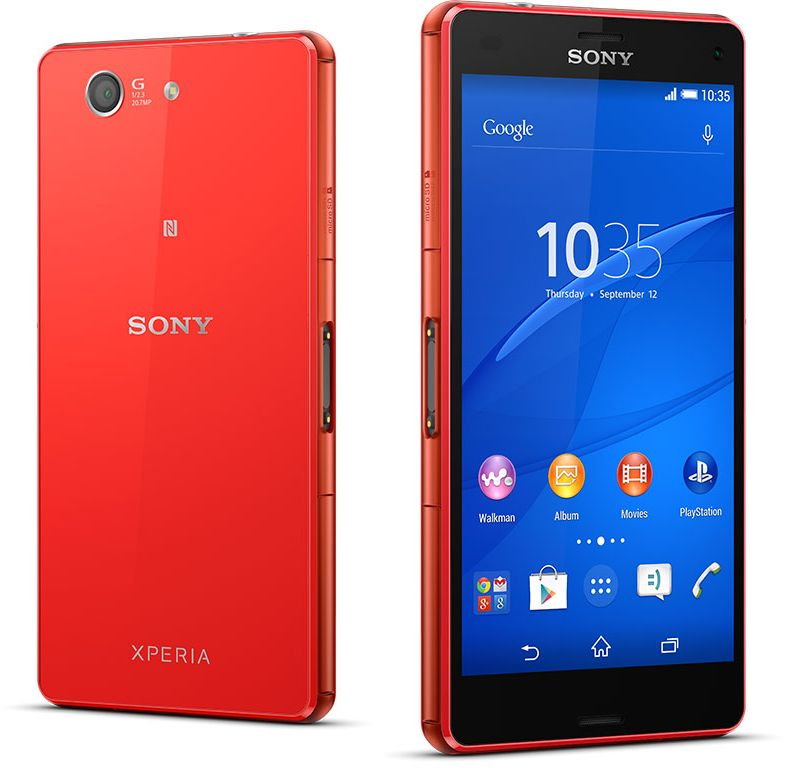 Sony Xperia Z3 Compact (16GB, Android OS, 4G LTE + Wifi, Orange)