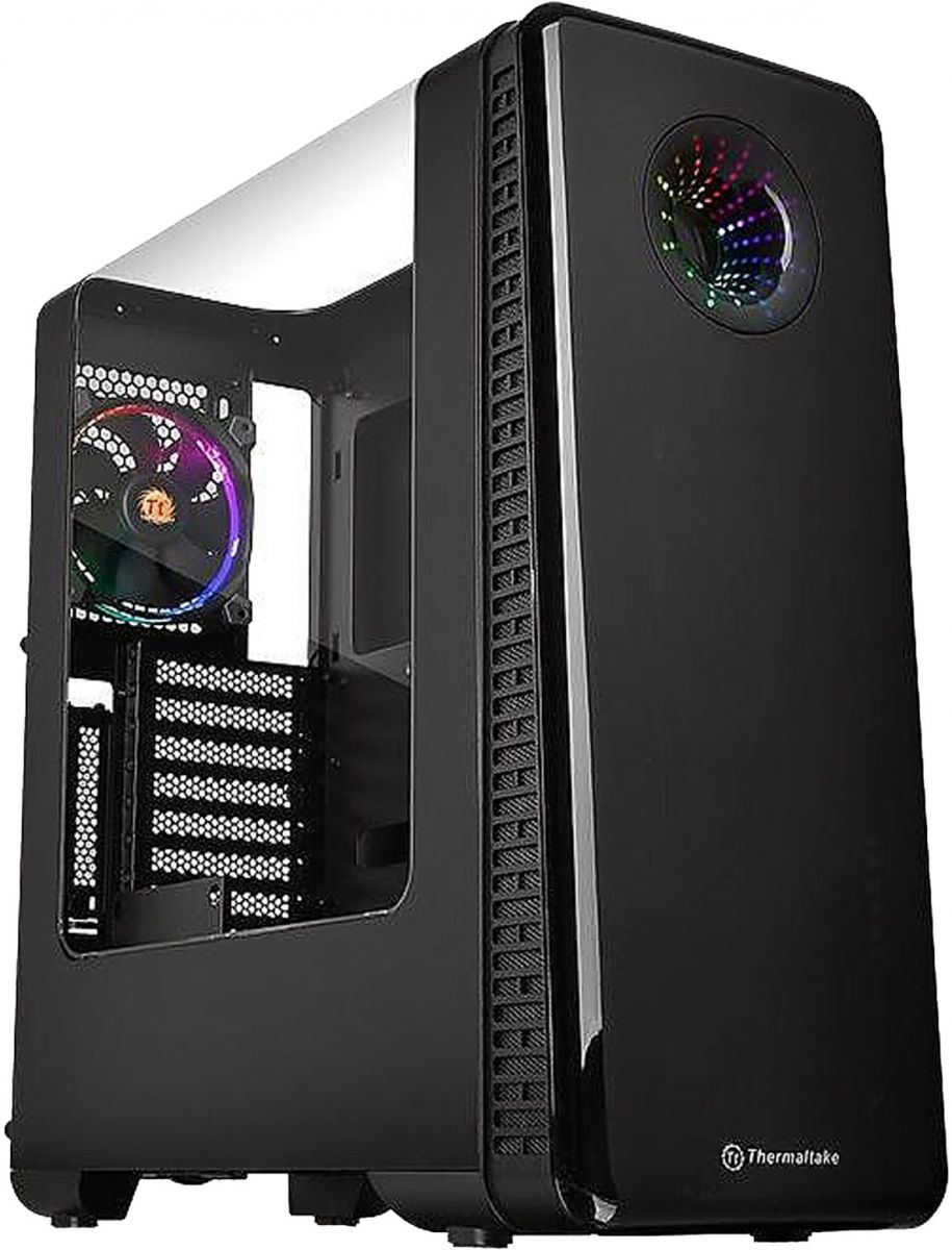Thermaltake View 28 RGB Riing Edition Gull-Wing Window ATX Mid-Tower Chassis - CA-1H2-00M1WN-01