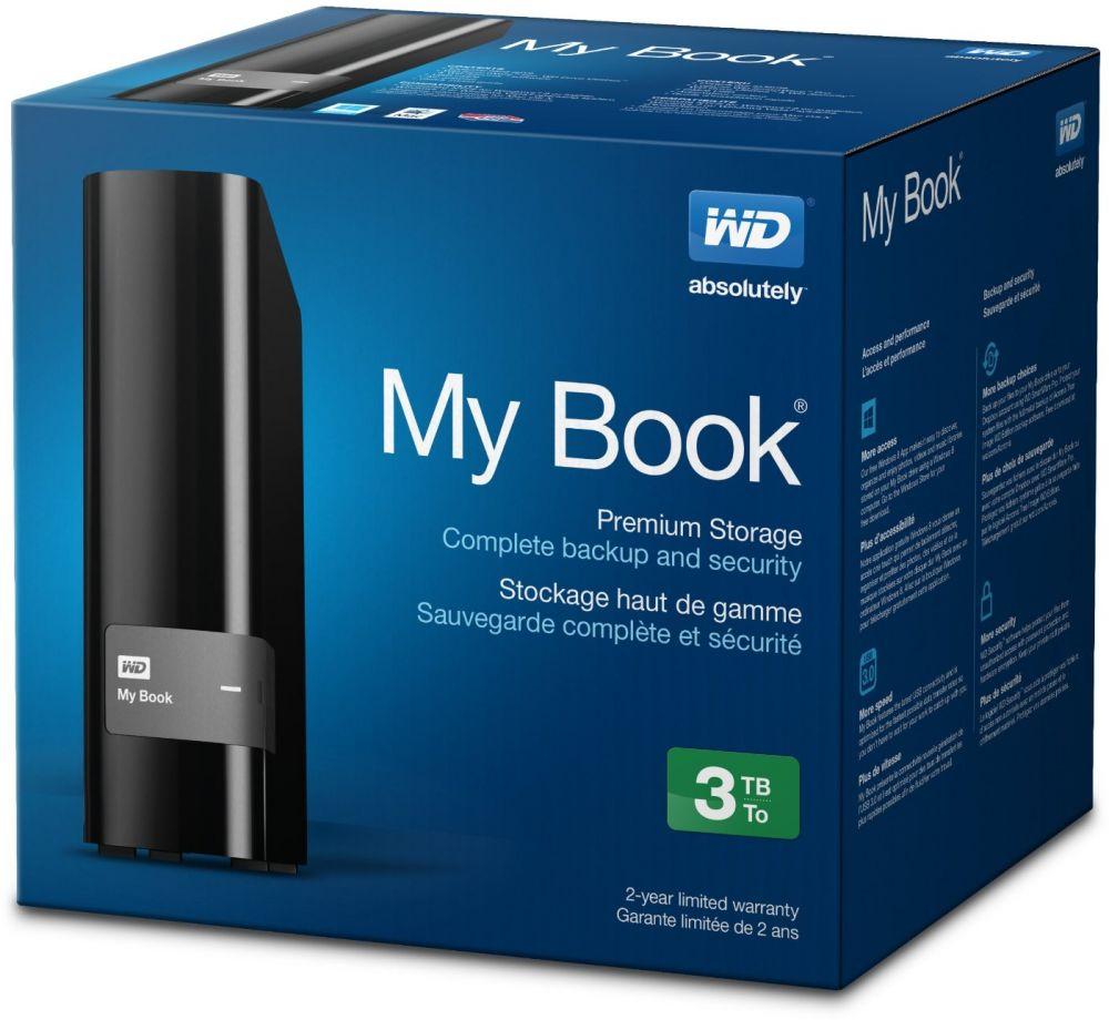 WD My Book - Hard drive - 3TB - External Desktop USB 3.0