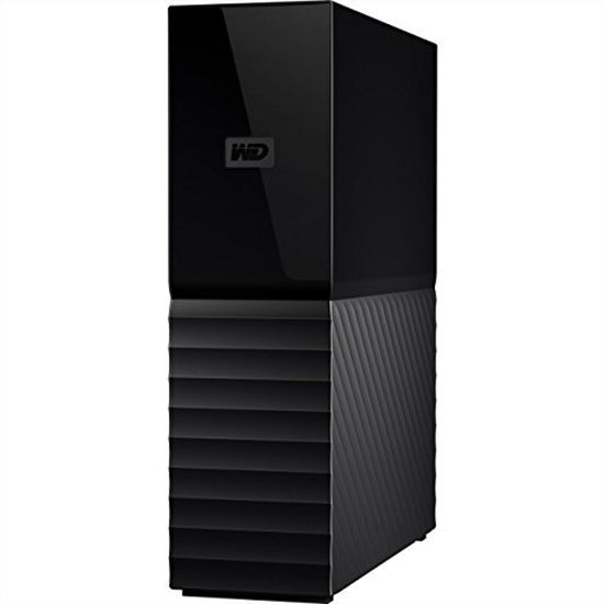 Western Digital 8 TB USB 3 My Book Desktop External Hard Drive - WDBBGB0080HBK-NESN