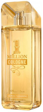 1 Million Cologne by Paco Rabanne for Men - Eau de Toilette, 125ml