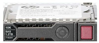 718291- 001,718160-B21,693719- 001,1.2TB SAS dual-port, hot-plug hard drive - 6Gb/sec transfer rate, 10,000 RPM, 2.5-inch small form factor (SFF) - For use with Gen7 or earlier models(G5/G6/G7)