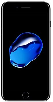 Apple iPhone 7 Plus with FaceTime - 128GB, 4G LTE, Jet Black