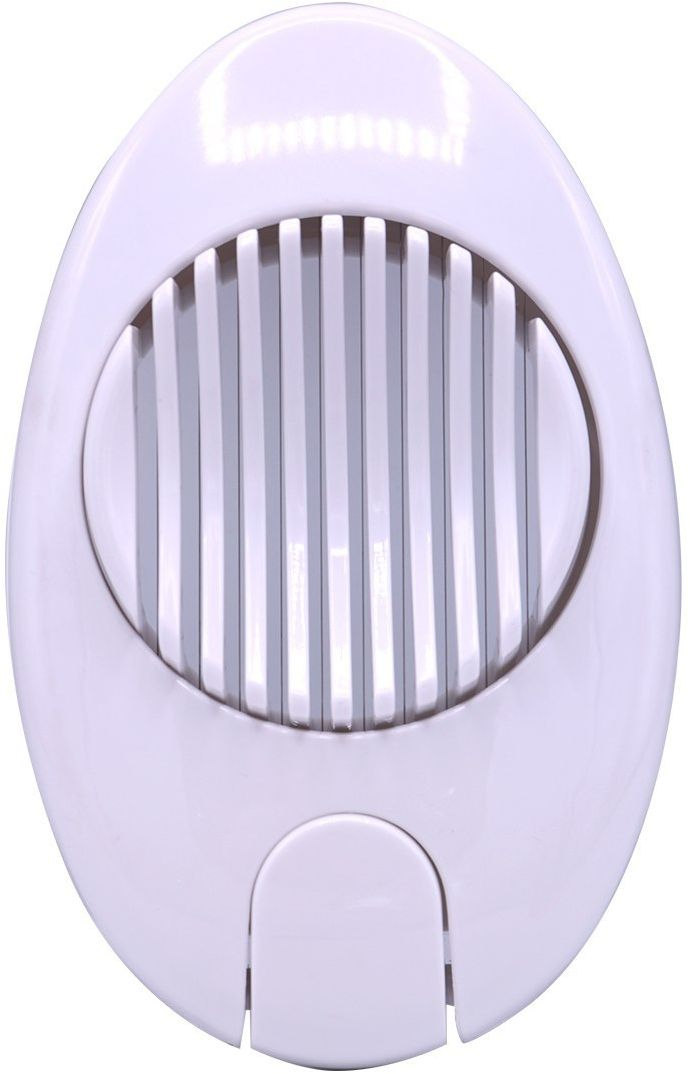 Bin Shihoun-AboMar Plastic Jumbo Egg Slicer, Clear Cover - White