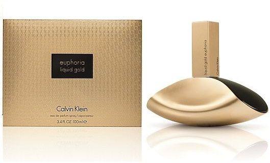 Calvin Klein Liquid Gold Euphoria Eau De Parfum For Women, 100ML