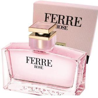 Ferre Rose by Ferre for Women - Eau de Toilette, 100 ml