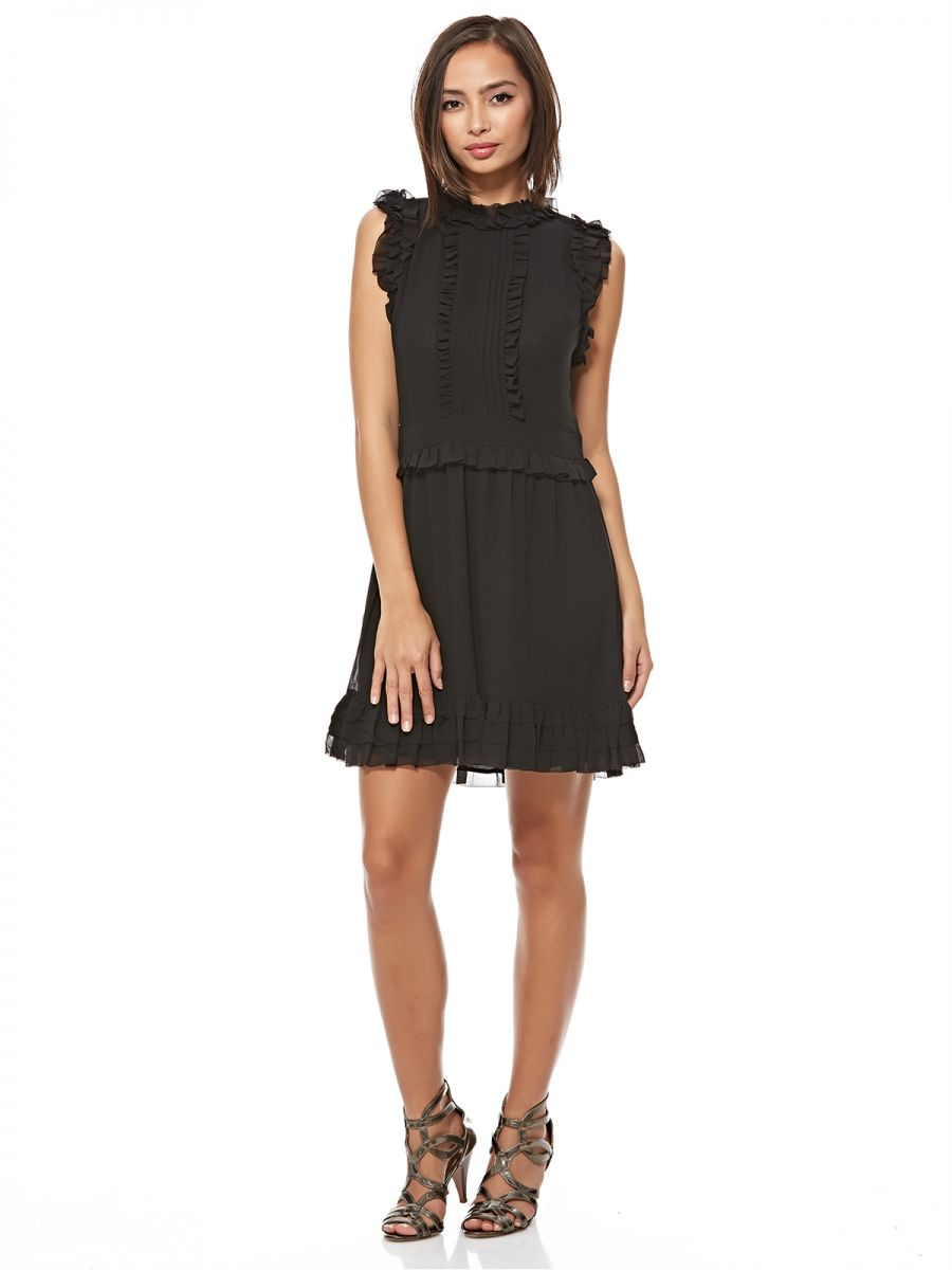 Juicy Couture A Line Dress For Women - Black, 2 US