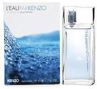 L'Eau par Kenzo pour Homme for Men -Eau de Toilette, 50 ml-