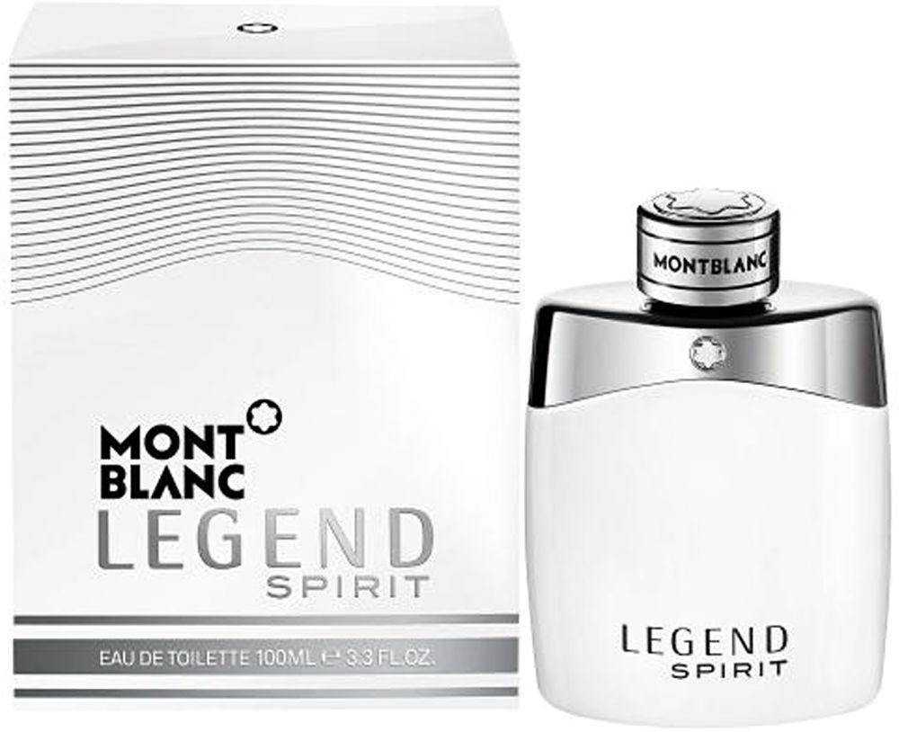 Legend Sprit by Mont Blanc for Men - Eau de Toilette, 100 ml