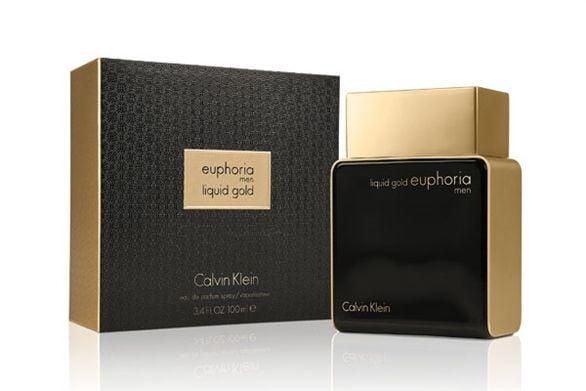 Liquid Gold Euphoria by Calvin Klein for Men - Eau de Parfum, 100ml