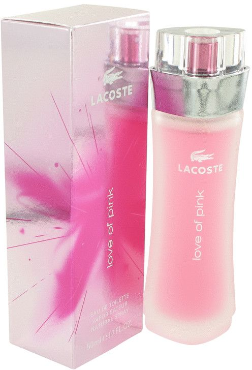 Love of Pink by Lacoste for Women - Eau de Toilette, 50ml