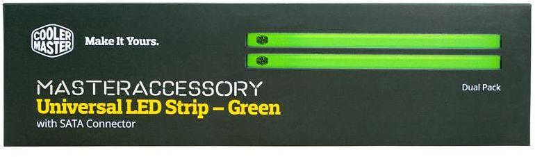 MCA-U000R-GLS000-Cooler Master Single LED Strip Green