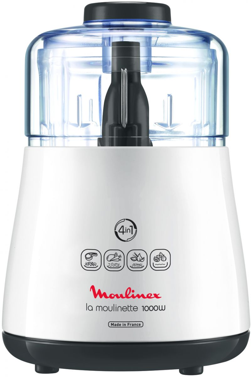 Moulinex La Moulinette DPA144 1000 Watt Chopper - White, 330 grams
