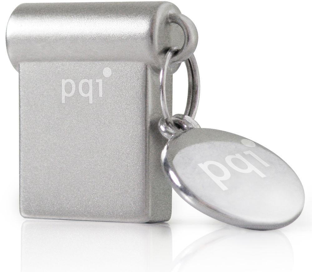 PQI i-mini Ultra-Small USB3.0 Flash Drive 16GB (6831-016GR106A) - White