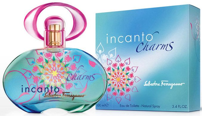 Salvatore Ferragamo Incanto Charms For Women -Eau De Toilette, 100 ml