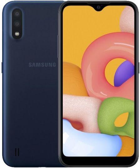 Samsung Galaxy A01 Dual Sim - 16 GB, 2 GB Ram, 4G LTE, Blue, SM-A015FZ