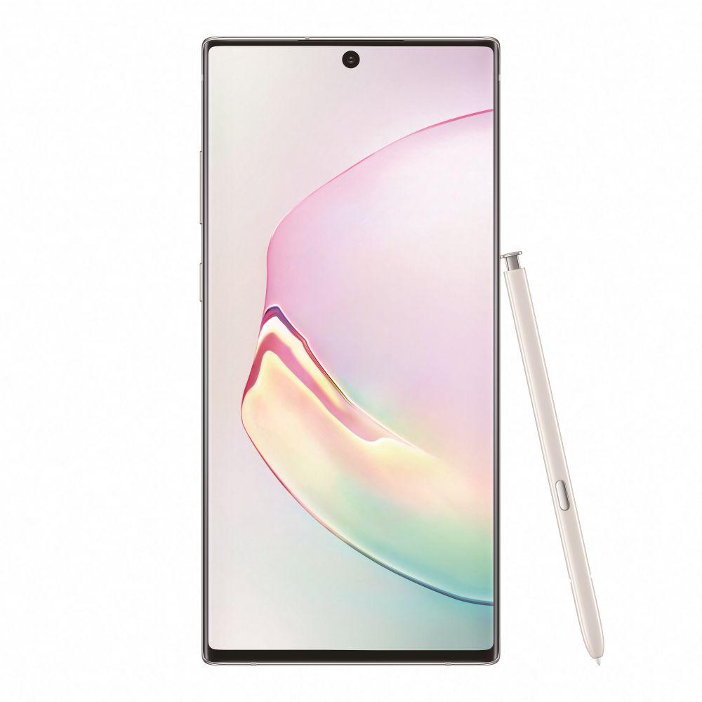 Samsung Galaxy Note 10 Plus Dual SIM - 256GB, 12GB RAM, 4G LTE, Aura White
