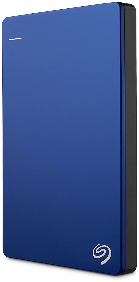 Seagate 2 TB Backup Plus USB 3.0 Slim Portable Hard Drive - Blue [STDR2000202]