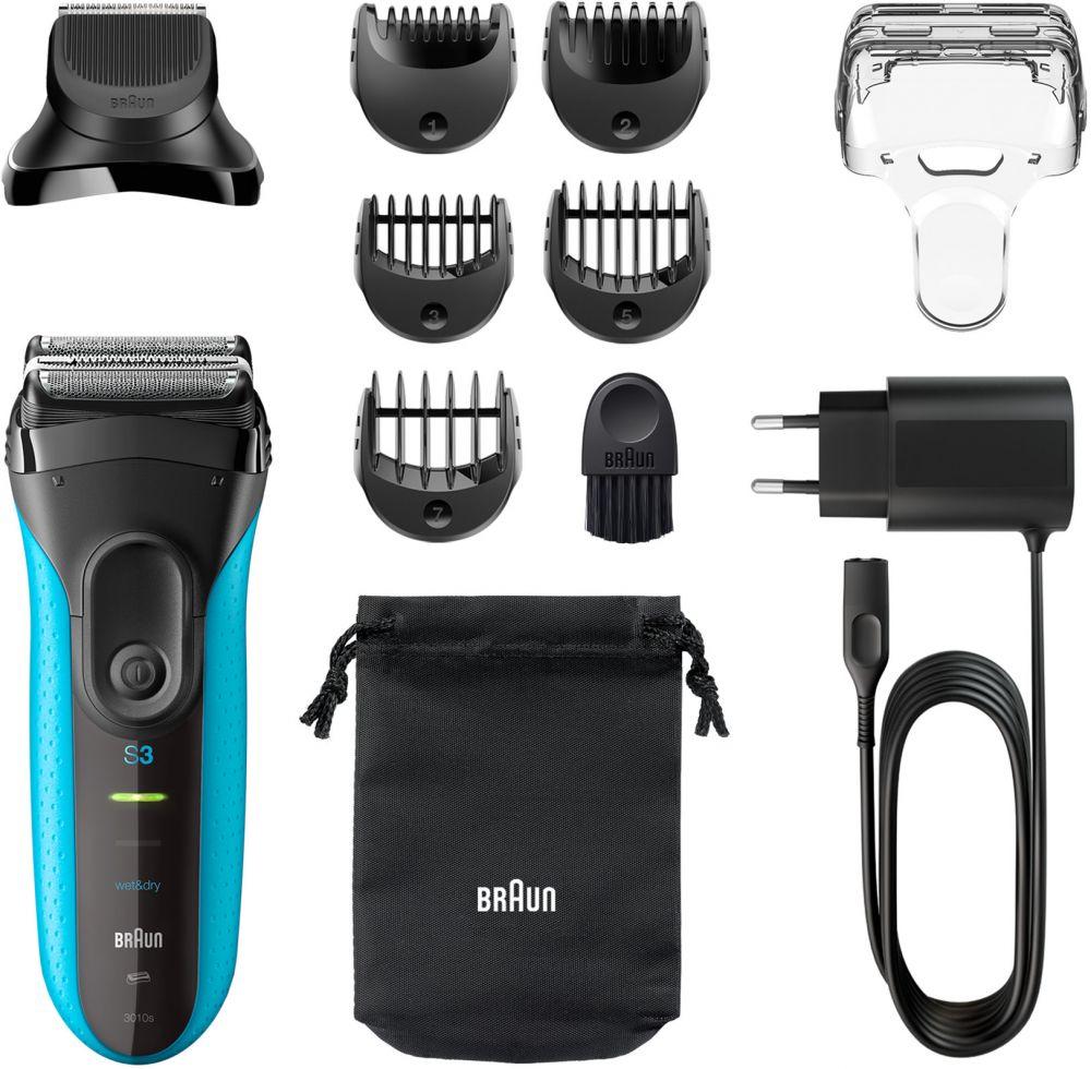 ماكينة حلاقة براون Series 3 Shave&Style 3010BT 3in1 Wet&Dry الكهربائية مع إضافات Precision Trimmer ومشط عدد 5