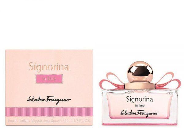 Signorina In Fiore By Salvatore Ferragamo Eau De Toilette For Women, 50 ml