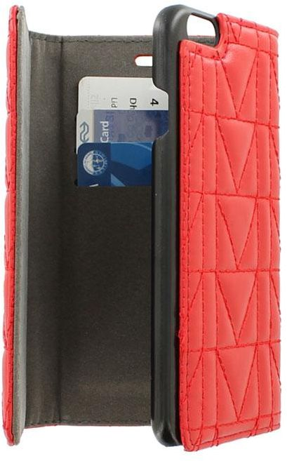 Wallet Clutch Case by KARL Lagerfeld for iPhone 6 / 6s - Red