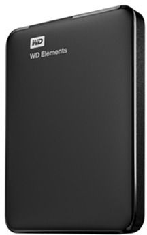 WD 2TB Elements Portable External Hard Drive USB 3.0 - Black, WDBU6Y0020BBK