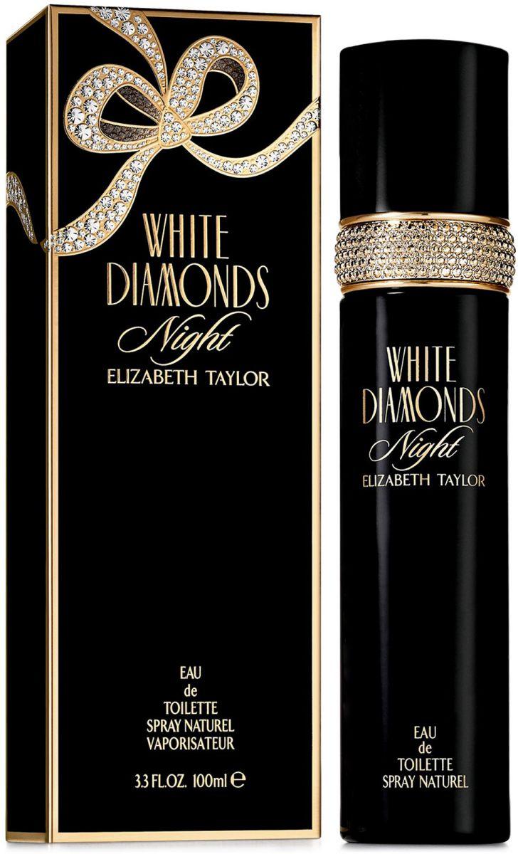 White Diamonds Night By Elizabeth Taylor For Women - Eau De Toilette, 100 ml