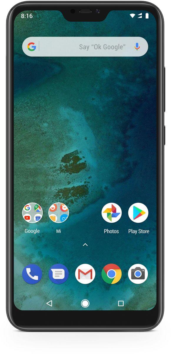 Xiaomi Mi A2 Lite Dual Sim - 64 GB, 4 GB Ram, 4G LTE, Black ' International Version