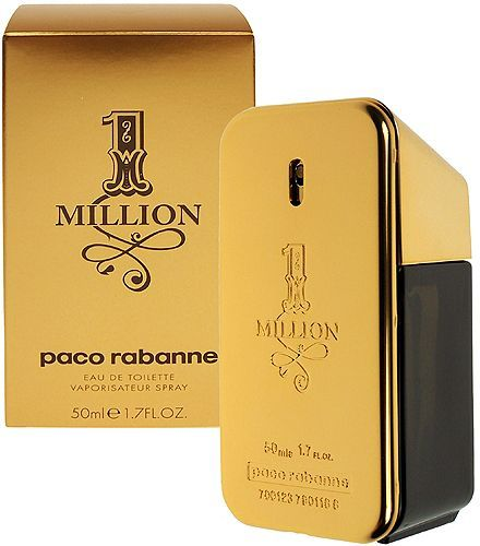 1 Million by Paco Rabanne for Men - Eau de Toilette, 50ml