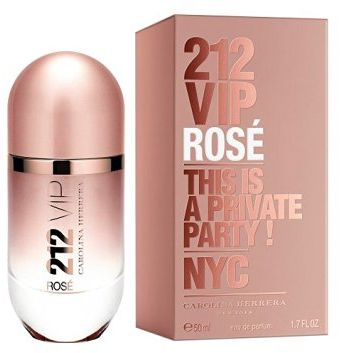 212 VIP Rose by Carolina Herrera for Women - Eau de Parfum, 50ml