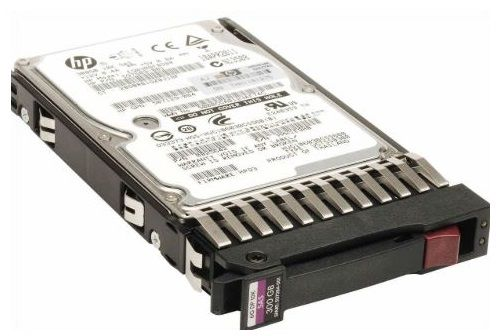 507284- 001,507127-B21, 300GB hot-swap dual-port SAS hard disk drive - 10,000 RPM, 6Gb/sec transfer rate, 2.5-inch small form factor (SFF) FOR G5/G6 and G7 servers
