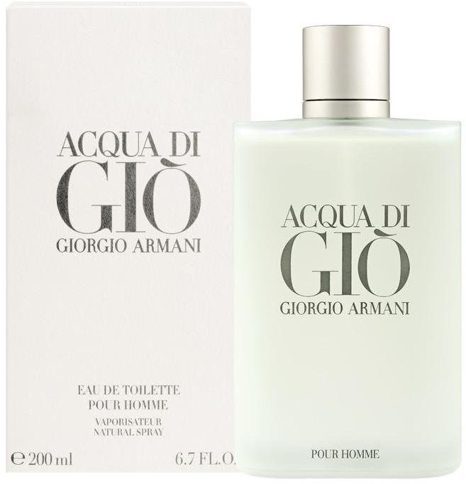 Acqua di Gio Pour Homme by Giorgio Armani for Men - Eau de Toilette, 200ml
