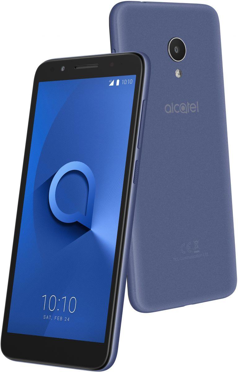 Alcatel 1X Dual Sim - 16 GB, 1 GB Ram, 4G LTE, Blue