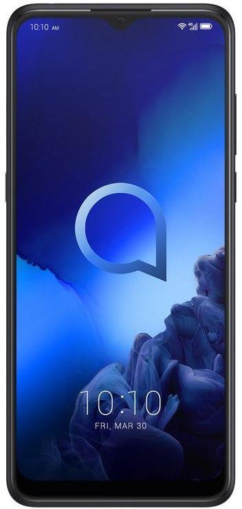 Alcatel 3X 5048U Dual SIM - 128GB, 6GB RAM, 4G LTE, Jewelry Black