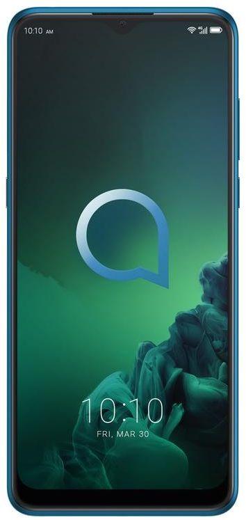 Alcatel 3X 5048U Dual SIM - 128GB, 6GB RAM, 4G LTE, Jewelry Green