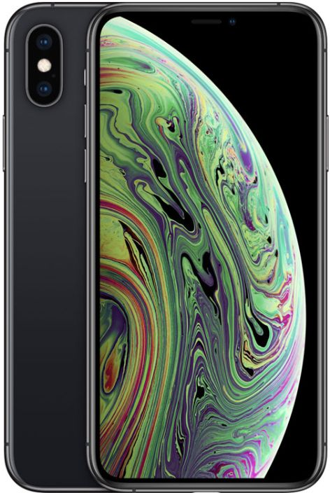 Apple Iphone XS With Facetime - 256 GB, 4G LTE, Space Grey, 4 GB Ram, Single Sim & E-Sim