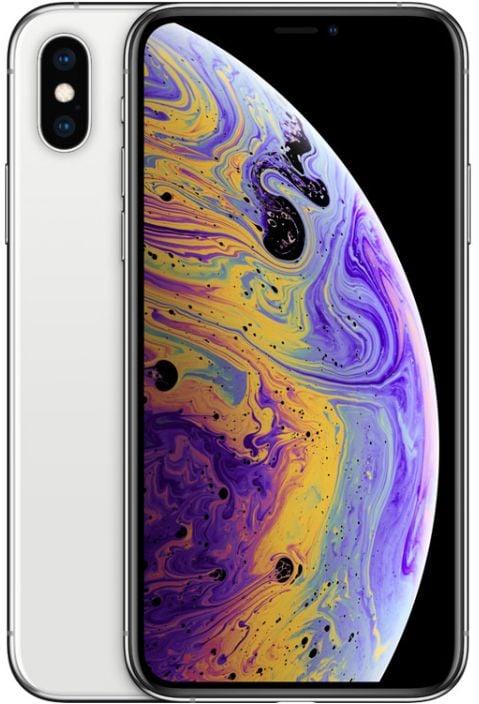 Apple Iphone XS With Facetime - 64 GB, 4G LTE, Silver, 4 GB Ram, Single Sim & E-Sim