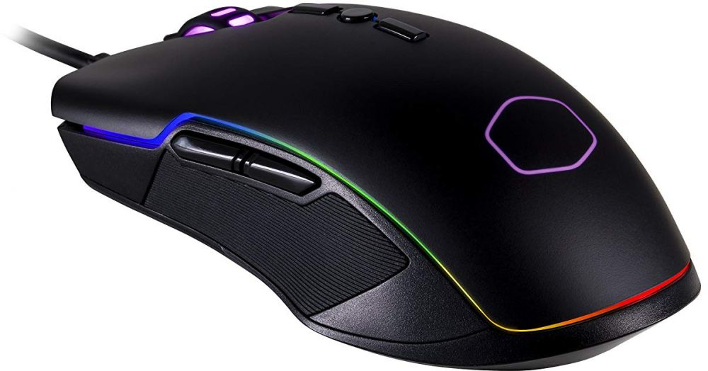 Cooler Master Gaming Mouse with Ambidextrous Grips, Black - CM310