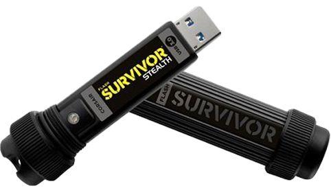Corsair 16 GB Survivor Stealth Flash Drive - CMFSS3-16GB